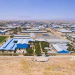 عکاسی هوایی از کارخانه ای در مورچه خورت